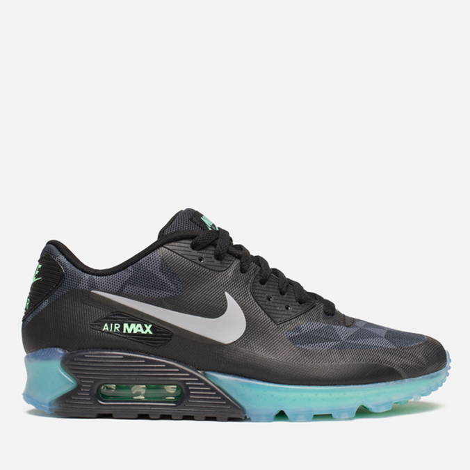 Мужские кроссовки Nike Air Max 90 Ice QS Black/Cool Grey