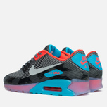 Мужские кроссовки Nike Air Max 90 Jacquard Ice QS Dark Grey/Black/Blue фото- 2