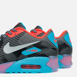 Мужские кроссовки Nike Air Max 90 Jacquard Ice QS Dark Grey/Black/Blue фото- 7