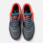 Мужские кроссовки Nike Air Max 90 Jacquard Ice QS Dark Grey/Black/Blue фото- 4