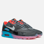 Мужские кроссовки Nike Air Max 90 Jacquard Ice QS Dark Grey/Black/Blue фото- 1