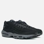 Мужские кроссовки Nike Air Max 95 Black/Dark Grey фото- 1