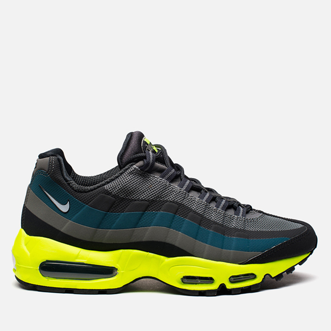 Мужские кроссовки Nike Air Max 95 No Sew Black/Dark Charcoal/Midnight Fog