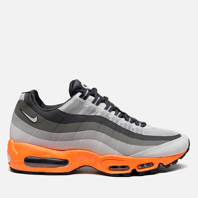 Мужские кроссовки Nike Air Max 95 No Sew Light Base Grey/Summit White