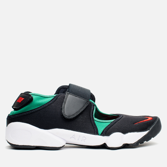 Мужские кроссовки Nike Air Rift QS Black/Forest/Atom Red