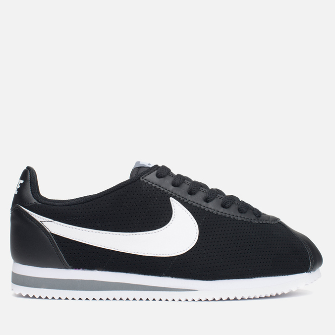 Мужские кроссовки Nike Classic Cortez Leather Black/White/Cool Grey