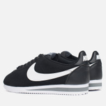 Мужские кроссовки Nike Classic Cortez Leather Black/White/Cool Grey фото- 2