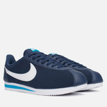 Мужские кроссовки Nike Classic Cortez Leather Midnight Navy/White/Blue фото- 1