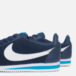 Мужские кроссовки Nike Classic Cortez Leather Midnight Navy/White/Blue фото- 7