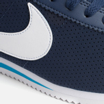 Мужские кроссовки Nike Classic Cortez Leather Midnight Navy/White/Blue фото- 5