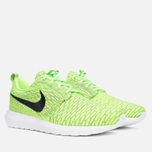 Мужские кроссовки Nike Flyknit Rosherun Volt/Black/Electric Green фото- 1