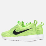 Мужские кроссовки Nike Flyknit Rosherun Volt/Black/Electric Green фото- 2