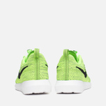 Мужские кроссовки Nike Flyknit Rosherun Volt/Black/Electric Green фото- 3