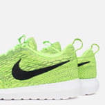 Мужские кроссовки Nike Flyknit Rosherun Volt/Black/Electric Green фото- 7