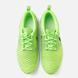 Мужские кроссовки Nike Flyknit Rosherun Volt/Black/Electric Green фото- 4