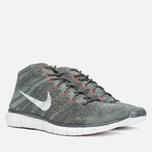 Мужские кроссовки Nike Free Flyknit Chukka Midnight Fog/White фото- 1