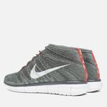 Мужские кроссовки Nike Free Flyknit Chukka Midnight Fog/White фото- 2