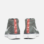 Мужские кроссовки Nike Free Flyknit Chukka Midnight Fog/White фото- 3