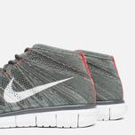 Мужские кроссовки Nike Free Flyknit Chukka Midnight Fog/White фото- 7