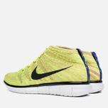 Мужские кроссовки Nike Free Flyknit Chukka Volt/Black фото- 2
