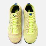Мужские кроссовки Nike Free Flyknit Chukka Volt/Black фото- 4