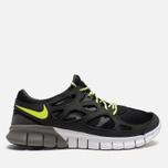 Мужские кроссовки Nike Free Run 2 Ash/Volt/Black фото- 0