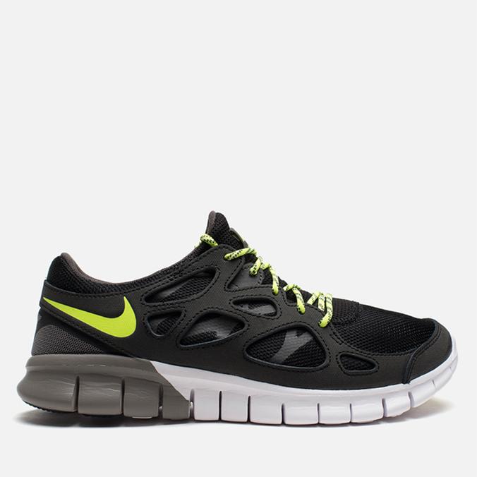 Мужские кроссовки Nike Free Run 2 Ash/Volt/Black
