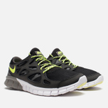 Мужские кроссовки Nike Free Run 2 Ash/Volt/Black фото- 1