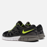 Мужские кроссовки Nike Free Run 2 Ash/Volt/Black фото- 2