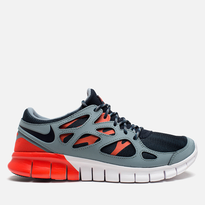 Мужские кроссовки Nike Free Run 2 Dark Obsidian/Grey