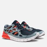 Мужские кроссовки Nike Free Run 2 Dark Obsidian/Grey фото- 1