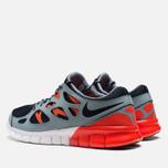 Мужские кроссовки Nike Free Run 2 Dark Obsidian/Grey фото- 2