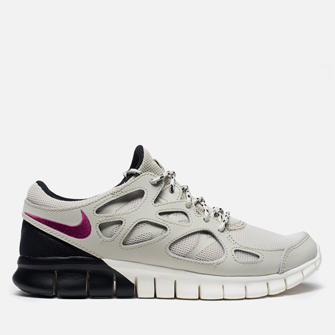 Мужские кроссовки Nike Free Run 2 Light Beige Chalk/Bright Magenta