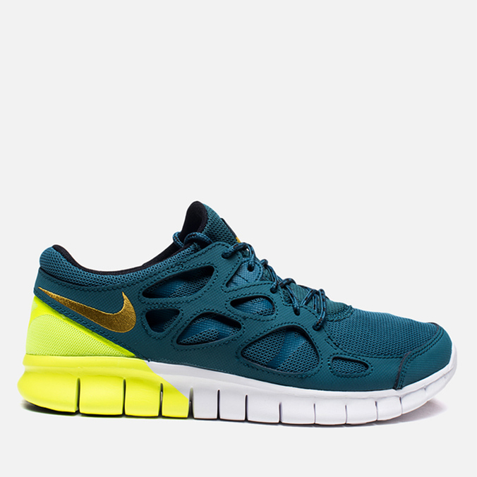 Мужские кроссовки Nike Free Run 2 Night Factor/Dark Charcoal