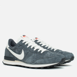 Мужские кроссовки Nike Internationalist Pigskin Leather Anthracite/Black фото- 1