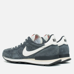 Мужские кроссовки Nike Internationalist Pigskin Leather Anthracite/Black фото- 2