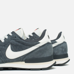 Мужские кроссовки Nike Internationalist Pigskin Leather Anthracite/Black фото- 7