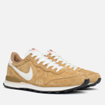 Nike Internationalist Pigskin Leather Sneakers Golden Tan/Sail photo- 1