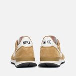 Nike Internationalist Pigskin Leather Sneakers Golden Tan/Sail photo- 3