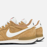 Nike Internationalist Pigskin Leather Sneakers Golden Tan/Sail photo- 7