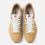 Nike Internationalist Pigskin Leather Sneakers Golden Tan/Sail photo- 4