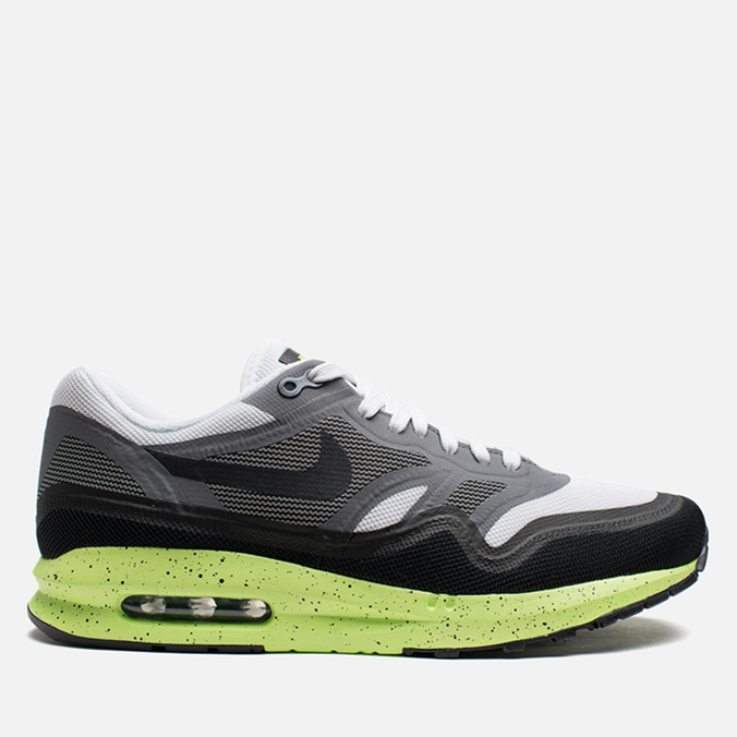 Мужские кроссовки Nike Lunar Air Max 1 Black/White/Neon