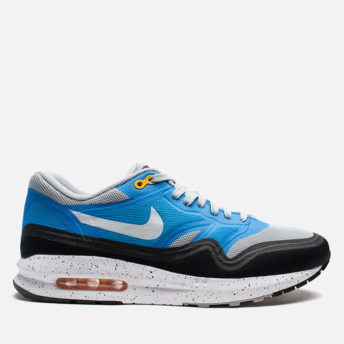 Мужские кроссовки Nike Lunar Air Max 1 Blue/Grey/Black