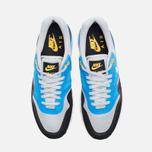 Мужские кроссовки Nike Lunar Air Max 1 Blue/Grey/Black фото- 4