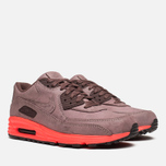 Мужские кроссовки Nike Lunar Air Max 90 QS Mahogany/PBL Red фото- 1