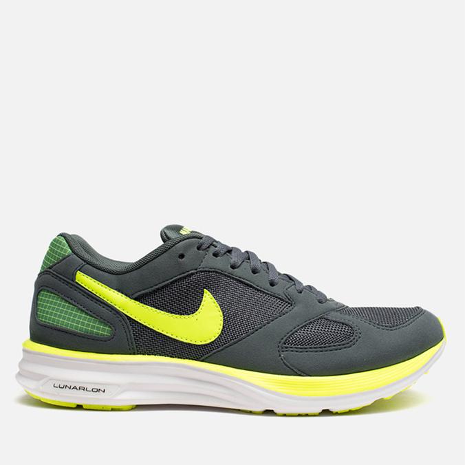 Мужские кроссовки Nike Lunarspeed Mariah Bomber Grey/Volt/Cannon White