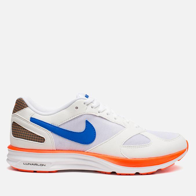 Мужские кроссовки Nike Lunarspeed Mariah White/Hyper Cobalt/Hyper Crimson