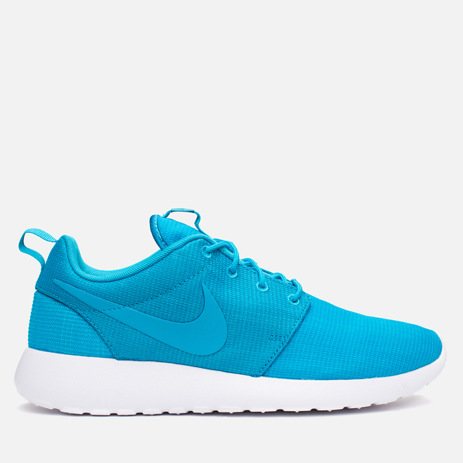Мужские кроссовки Nike Roshe One Blue Lagoon/Light Blue Lacquer/White