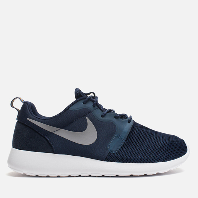 Мужские кроссовки Nike Rosherun Hyperfuse Medium Navy/Wolf Grey