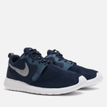 Мужские кроссовки Nike Rosherun Hyperfuse Medium Navy/Wolf Grey фото- 1
